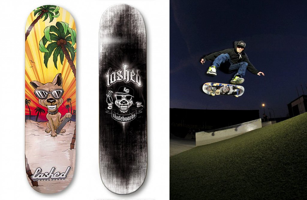 LASHED skateboards