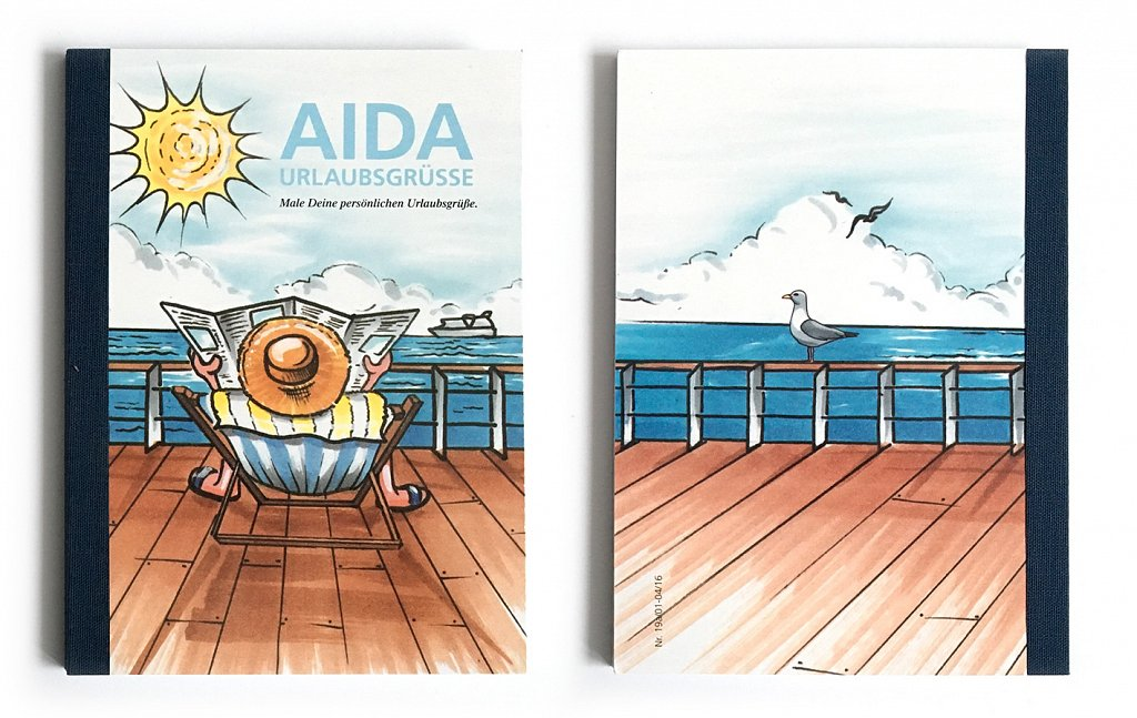 AIDA sketchbook