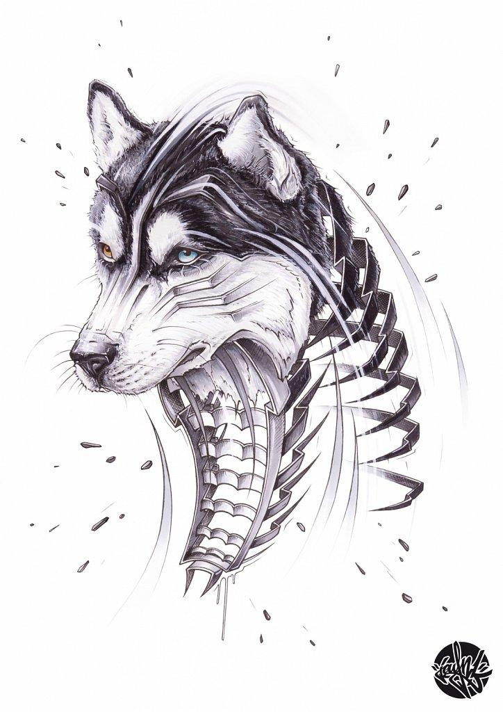 Husky Slice