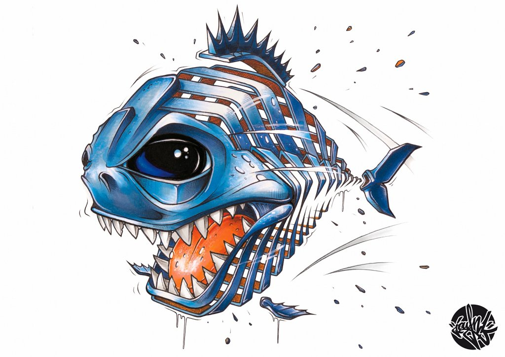 Piranha Slice